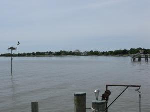 View of Eli's dock